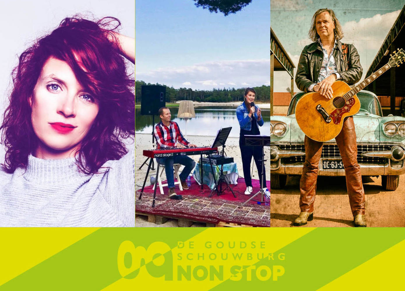 3x30 in concert - Livestreamticket | Margriet Sjoerdsma, Erwin Nyhoff, R&A Music